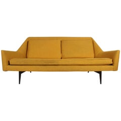 Rare Paul McCobb Cubist Sofa or Settee