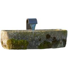 Old Granite Fountain