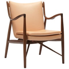 Finn Juhl Armchair 45 in Vegetal Leather