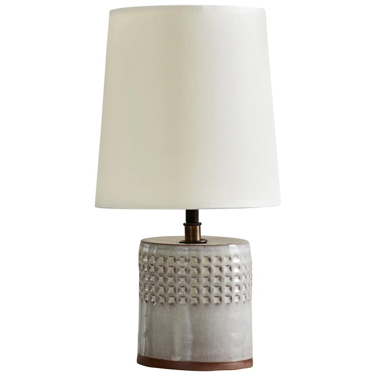 Juliette Lamp, Ceramic Sculptural Table Lamp by Dumais Made