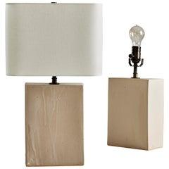 Skippy Lamp, Ceramic Sculptural Table Lamp by Dumais Made