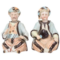 19th Century Paris Porcelain Moving Head