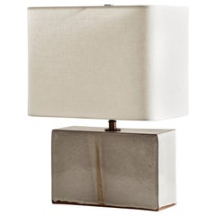 New Preston Lamp, Ceramic Sculptural Table Lamp by Dumais Made