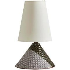 Bantam Lamp, Ceramic Sculptural Table Lamp by Dumais Made