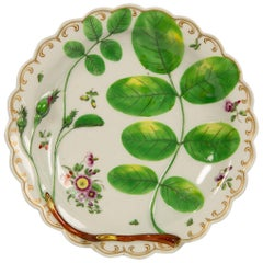 Worcester Porcelain Blind Earl Dish, 18th Century