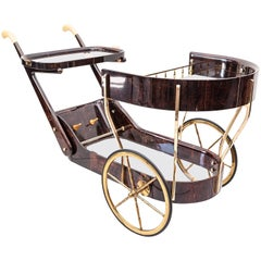 Aldo Tura Bar Cart