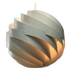 Original Turbo Ceiling Light by Louis Weisdorf for Lyfa, Denmark, 1965