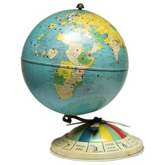Air Race Globe by Replogle, circa 1950s
