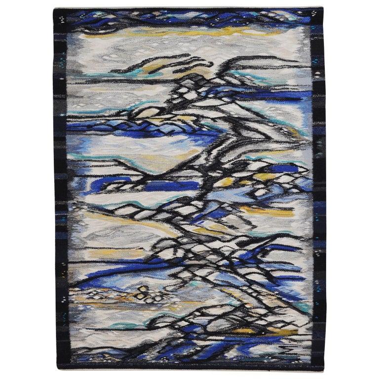Contemporary Tapestry Weaving by the Danish Artist Mette Birckner
