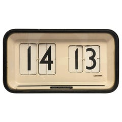 Large Station, Airport, Factory Wall Flip Clock by Gino Valle for Solari Udine