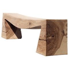Unique Ash Bench by Jörg Pietschmann