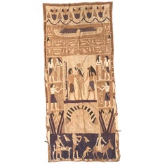 Antique Egyptian Patchwork Tapestry