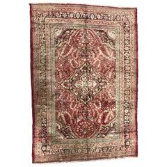 Vintage Persian Hamadan Rug Antique Rugs Carpets