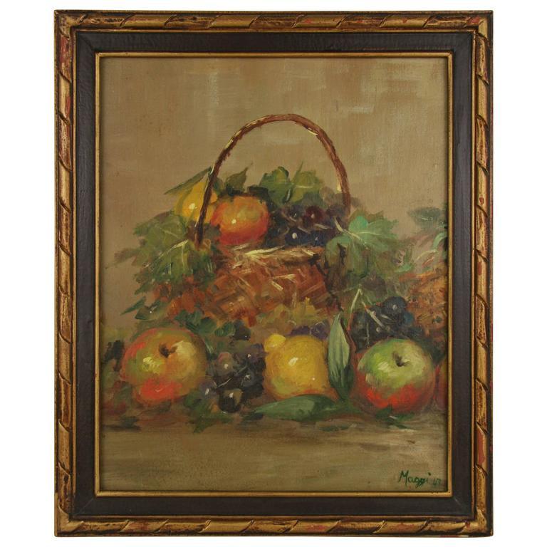 """""""Fruit Still Life"""" Painting"""