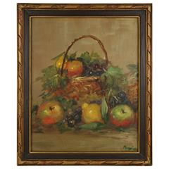 """Fruit Still Life"" Painting"