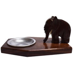 Art Deco 1930s Novelty Elephant Pin Tray