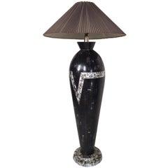 Black Vintage Modern Floor Lamp