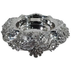 Gilded Age Sumptuous Sterling Silver Centerpiece Bowl by Tiffany & co.