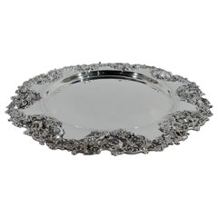 Large and Fancy Bailey, Banks and Biddle Sterling Silver Tray