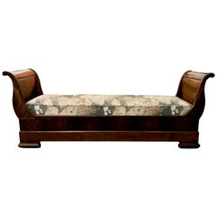 French 19th Century Louis Philippe Daybed