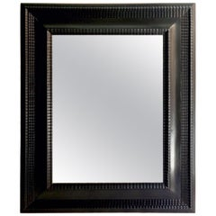 19th Century Dutch Ebonized Mirror