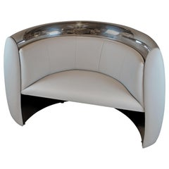 Grey Jet Cowling Aircraft Chair