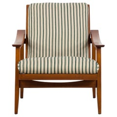 Midcentury Model 660 Armchair by Cassina