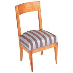 Biedermeier Elm Chair, Austria Wien, Period 1830-1839, Architect Josef Danhauser