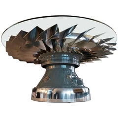 Aircraft LP1 Fan Blade Coffee Table