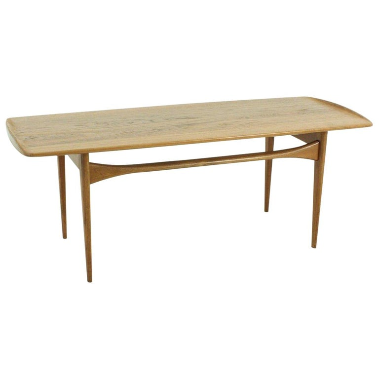 1920s Danish Teak coffee table by Tove & Edvard Kindt-Larsen