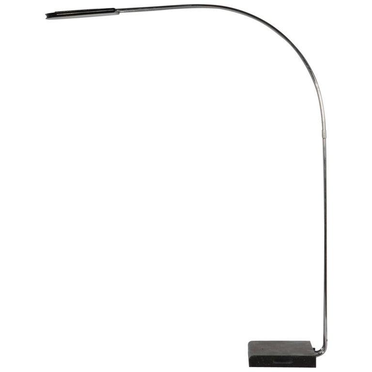 Italian Floor Lamp, Series 'Gesto' Designed by Bruno Gecchelin, Skipper, 1975