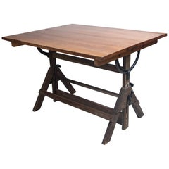 Vintage Drafting Table by Hamilton, circa 1940