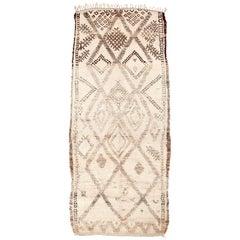 Superb Vintage Ait Seghrouchène Moroccan Rug