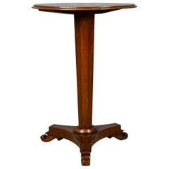 Antique Wine Table, English, Regency, Mahogany, Tripod, Side, circa 1830