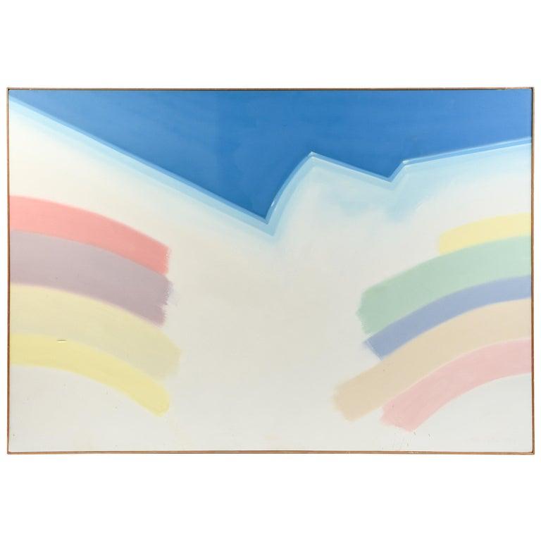 Abstract Acrylic Oil on Canvas