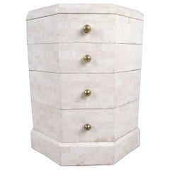 Maitland-Smith End Table with Drawers