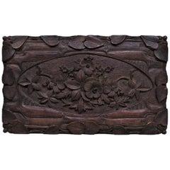 Black Forest Carved Box
