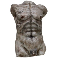 Nude Male Torso Sculpture