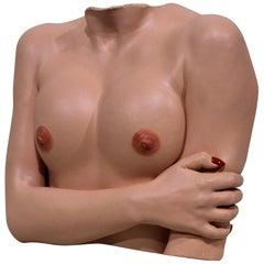 Nude Woman Pop Art Hanging Wall Sculpture