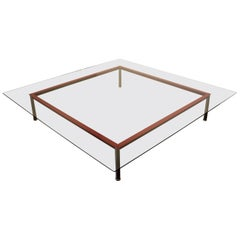 Very Large LC-10P Low Coffee Table by Le Corbusier, Manufactured by Cassina