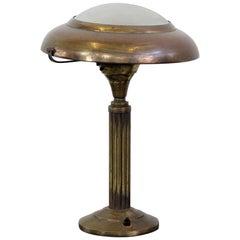 Early 20th Century Italian Brass Table Lamp, circa 1910