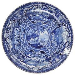"John Hall Staffordshire Plate ""Quadrupeds"""
