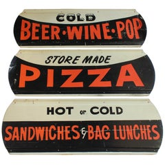 1950s Trio of Diner Signs
