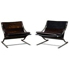 Pair of 'Z' Chairs by Paul Tuttle