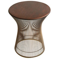 1960s Bronze Side Table by Warren Platner for Knoll