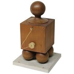 Wood Block Sculpture