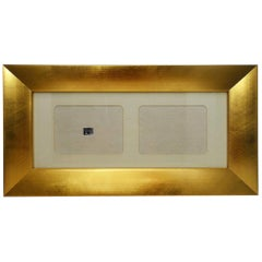 Bussolari Giltwood Double Photo Frame