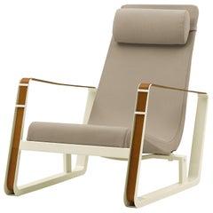 Jean Prouvé Cité Chair in Beige & Ecru for Vitra