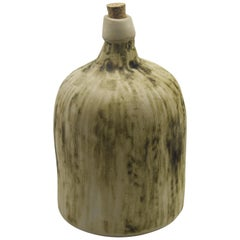 Ceramic Demijohn Bottle Mexican Mezcal Container Clay Oaxaca Rustic Design