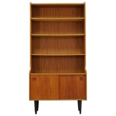 Bookcase Teak Midcentury Retro Vintage